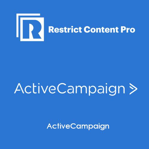 Restrict Content Pro ActiveCampaign