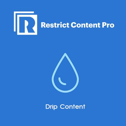 Restrict Content Pro Drip Content