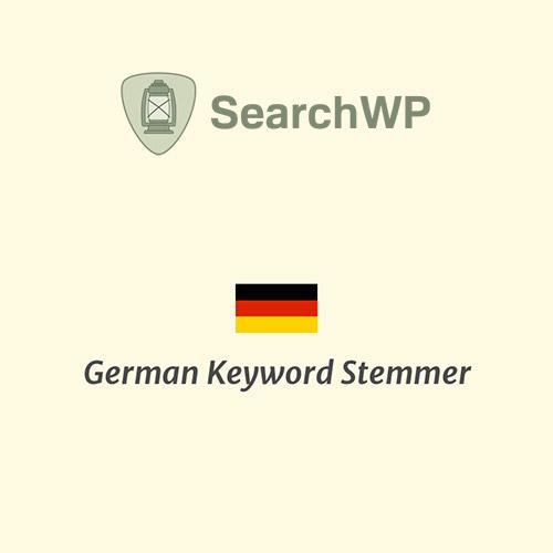 SearchWP German Keyword Stemmer