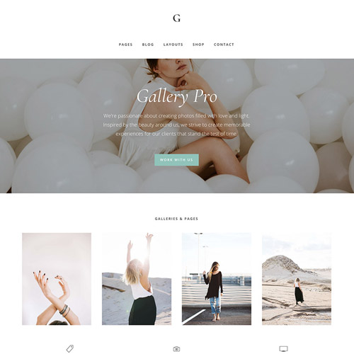 StudioPress Gallery Pro Genesis WordPress Theme