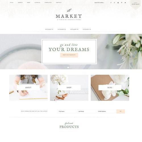 StudioPress Market Pro Genesis WordPress Theme