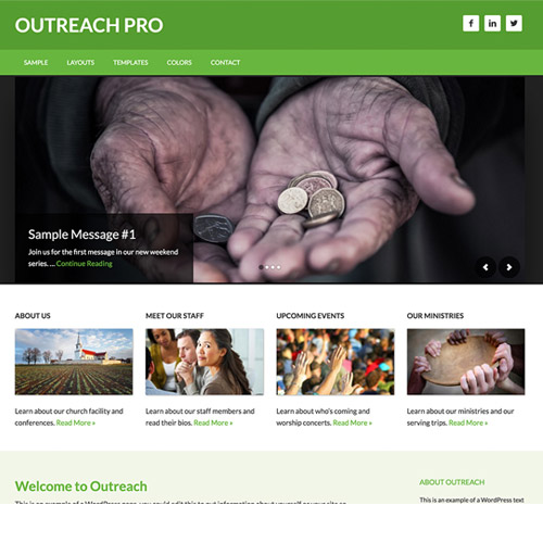 StudioPress Outreach Pro Genesis WordPress Theme