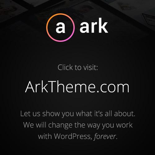 The Ark   WordPress Theme made for Freelancers
