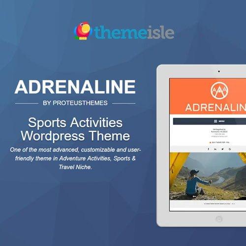 ThemeIsle Adrenaline PT WordPress Theme