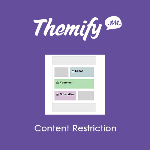 Themify Builder Content Restriction