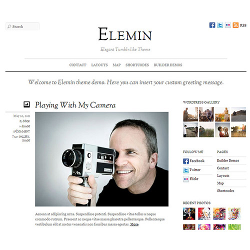 Themify Elegant WordPress Theme