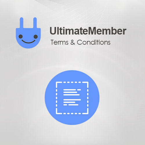 Ultimate Member Terms & Conditions Addon
