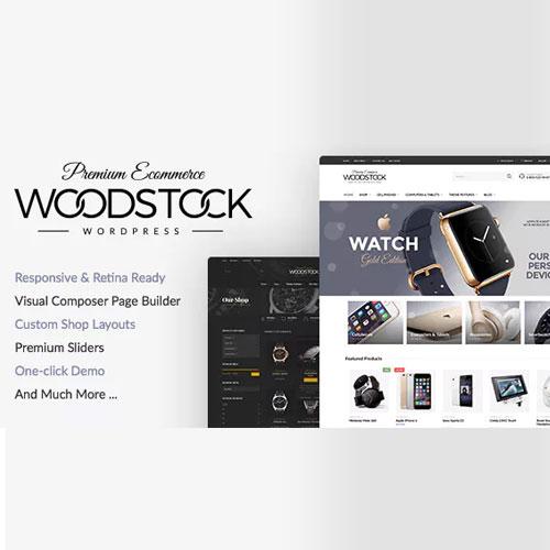 Woodstock – Electronics Responsive WooCommerce Theme