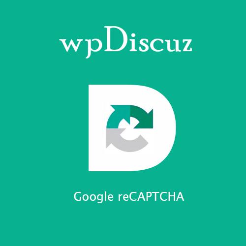 wpDiscuz – Google reCAPTCHA