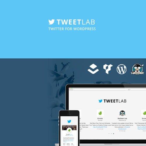 Tweetlab – Twitter Slider & Usercard for WordPress