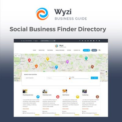 Wyzi – Business Finder WordPress Directory Listing Theme