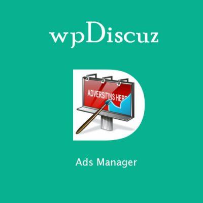 wpDiscuz – Ads Manage